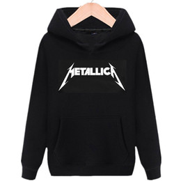 ingrosso hoodies di fascia musicale-rock band in pile hoodies musica heavy metal Thrash Metal felpe hip hop street wear per gli uomini donne