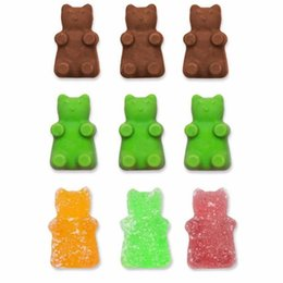 Chinese  DIY Fashion Kitchen Tools Mold Silicone Gummy Bear Candy Chocolate Mold With A Bonus Dropper Making Cute Gift For Your Kids manufacturers