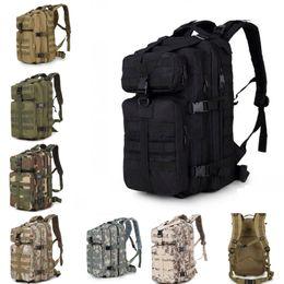8af43dcb4931 Спорт на открытом воздухе 35L 3P тактические военные рюкзаки  водонепроницаемый нейлон камуфляж кемпинг пешие прогулки походы кемпинг рюкзаки  мужчины должны ...