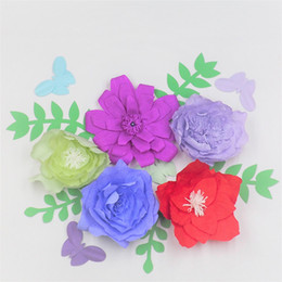 Paper Flowers For Wedding Backdrop Online Shopping Paper Flowers