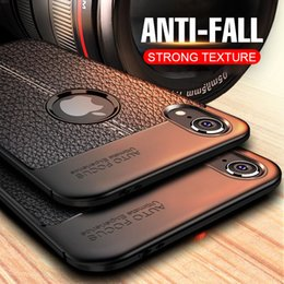 Shockproof Case Phone NZ - Ultra Thin Soft Silicone Case For IPhone X XS Max XR 8 7 6 6S Plus Phone Case Full Cover TPU Shockproof Back Cases