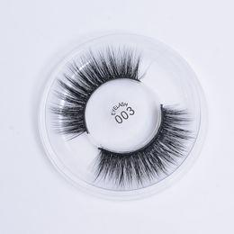 3d Eye Glitter UK - 3D silk eyelashes 100% Handmade Eye Lashes Makeup Thick Fake False Eyelashes Rainbow Glitter Packing 003