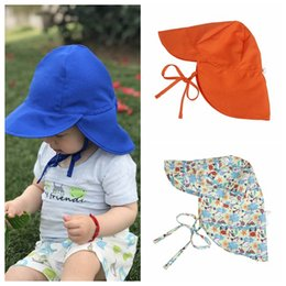Sun capS for girlS online shopping - styles New Arrival Outdoor Ultraviolet proof Hat Child Summer Sun Hat Kids polyester Caps For Kids Boy Girls Sun proof Hat