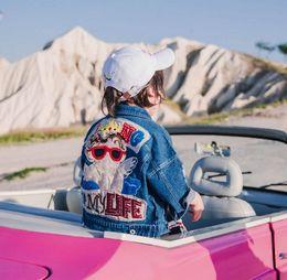 $enCountryForm.capitalKeyWord Canada - Kids Wear Jacket 2018 New Boys Autumn Wear Girls Coat Korean Children cotton foreign trade temperament baby denim jacket tide wholesale