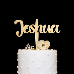 Custom Name Cake Topper Birthday TopperPersonalized Gift Decorations