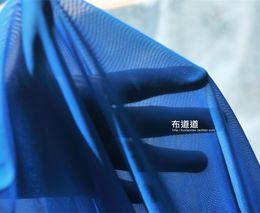 $enCountryForm.capitalKeyWord Canada - 160CM *50CM BLUE 4 way stretch nylon mesh fabric soft birdeyes lining underwear stockings skin color knit mesh material