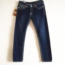 True slim jeans online shopping - Womens Denim Pencil Pants Ladies Long Trousers Punk Biker Jeans Womens TRUE Brand Slim Jeans Religion Solid Color Skinny Sexy Jeans Pants