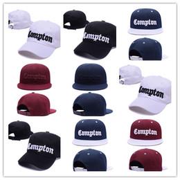 Envío gratuito Compton gorra de béisbol snapback cap gorras hip hop  sombreros para hombres mujeres rap snapbacks gorras de béisbol casquette  sombreros bbb64ce235d