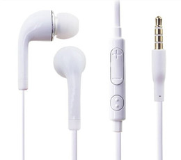 ear phones samsung pink Australia - S4 S6 j5 Stereo Headsets In Ear Earphone with Mic and volume control Headphones for Samsung Galaxy Universal for Android phones iphone