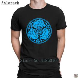 29898a3c8 Nordic Dragon Emblem t-shirt HipHop Top Great Letter Print t shirt for men  big sizes Clothes Spring tee shirt hilarious