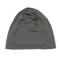 17f7632bc57 Spring Autumn Casual Hats For Women Men Hip Hop Beanies Skullies Unisex Men  Cotton Cap Winter Warm Ladies Thin Knitted Hat Girl