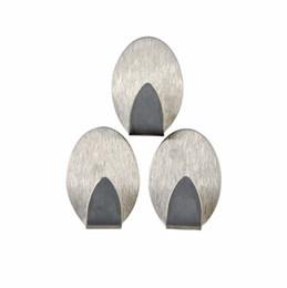 $enCountryForm.capitalKeyWord UK - Stainless Steel Self Adhesive Hooks Tiles Glass Strong Sticky bag holder hanging hook Toilet Kitchen Bathroom Holder Racks
