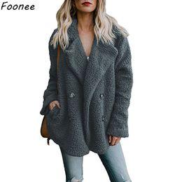 $enCountryForm.capitalKeyWord Canada - Elegant Faux Fur Coat Women 2018 Autumn Winter Warm Soft Fur Jacket Female Plush Overcoat Casual Outerwear Plus Size 3XL