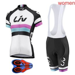 2018 Pro Team LIV Cycling Clothing Quick-Dry Cycle Clothes Mountain Bicycle  Wear Ropa Ciclismo Bike Cycling Jerseys Set L1802 939be23d5