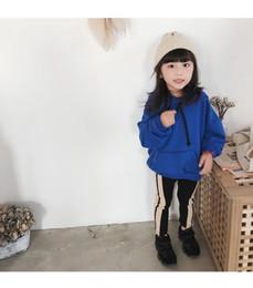 Enfants de bande dessinée mignonne hoodies corée style 80 cm-140 cm fille  mode hoodie hiver vêtements chauds fille sweat-shirts cdc7e6cb988