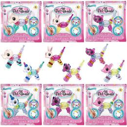 Girls plastic jewelry sets online shopping - Magic Bracelets Kids Jewelry Unicorn Puppy Cat Rabbit Lion DIY Magic Pet Beads Set Twisty into a Pet Christmas Gifts