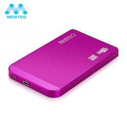 "Discount external hard disk wholesale - MEQ Box HDD Case USB 3.0 2.5"" sata enclosure HDD Enclosure Hard Drive Disk Case Box External Aluminum Alloy"