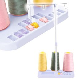 Wholesale ABS Plastic Adjustable Sewing Thread Spools Holder Sewing Machine Parts Needle Thread Bobbin Holder Tools