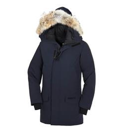 Warmest Goose Down Parka NZ - hot sale Brand 2018 New Mens thick Goose Down Fire Rhinoceros CHATEAU Parka Coat Winter Warm Jacket