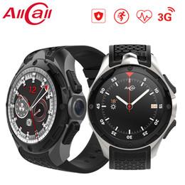 $enCountryForm.capitalKeyWord Australia - Allcall W2 Android 7.0 MTK 6580 Quad-core Smart watch 1.39 Inch 3G IP68 waterproof Heart rate monitor Call Message Speaker OTV