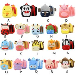 $enCountryForm.capitalKeyWord Canada - Top Quality Children Plush Cartoon Toy Baby Backpack Boy Gril Bags Gift For Kids Backpacks For Christmas Gifts