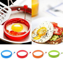 $enCountryForm.capitalKeyWord NZ - Silicone Fried Egg Pancake Ring Omelette Fried Egg Round Shaper Eggs Mould for Cooking Breakfast Frying Pan Oven Kitchen