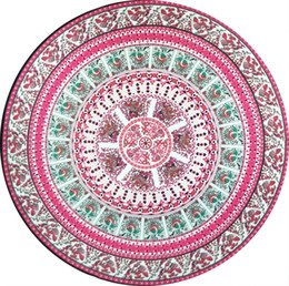 $enCountryForm.capitalKeyWord UK - Round Mandala Beach Bath Towels Printed Tapestry Hippy Boho Tablecloth Bohemian Beach Towel Serviette Covers Beach Shawl Wrap Yoga Mat