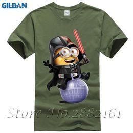 $enCountryForm.capitalKeyWord NZ - 2017 fashion brand new clothing men minion batman printed T-shirt Hipster White Minion Design Darth Vader T-shirt Funny T-shirt