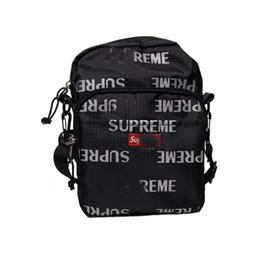 Hottest college backpacks online shopping - 2018 hot seller Fashion Man Women th M Reflective Repeat Shoulder Bag Single shoulder backpack with