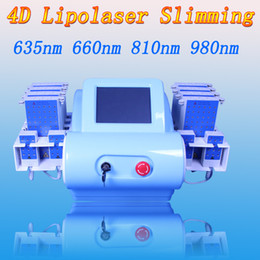 Laser 635nm online shopping - Japan imported mitsubishi diode lipolaser cellulite removal fat burning lipo laser body slimming machine nm nm nm nm