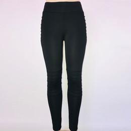 Hot yoga pants workout online shopping - Hot Sale Yoga Pants Women Trousers Elastic Waist Polyester Women s Fashion Workout Leggings Fitness Sports Gym Running Yoga