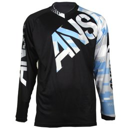 16ab289ec Wholesale motorcycle Jersey moto gp motocross MTB DH MX Jersey Bicycle  Cycling Bike downhill Fast Dry Smooth