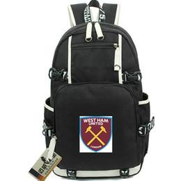 ef667b4cd1ca Soccer West Ham UK - West Ham daypack United backpack 1895 football club school  bag Soccer