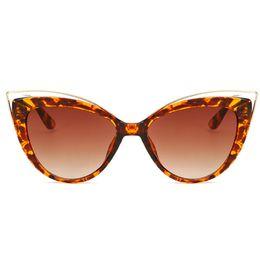Sunglasses Sun Glasses NZ - Newest Brand Designer Mirror Sun Glasses Retro Vintage Oversized Kitty Eye Sunglasses For Women Female Cateye Eyewear Glass Lady