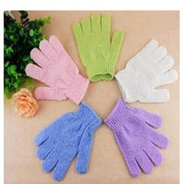 Cleaning Towels Australia - Wholesale Cool Ball Bath Towel Bathing Shower Gloves Massage Gloves Cleaning Towel &Bath Shower Brushes