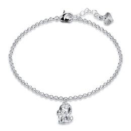 $enCountryForm.capitalKeyWord NZ - Brand new!Fashion trendy zodiac series hand chain925 silver bracelet JSPB628;low price girl women sterling silver plated Charm Bracelets