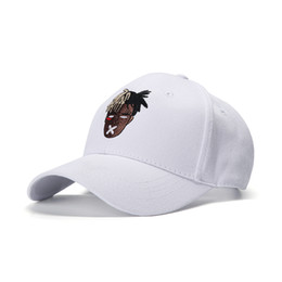 Großhandel Neue Mode Unisex Baseballmütze Sänger xxxtentacion Dreadlocks Snapback für Männer Frauen Hip Hop Hut Mode Unisex Baseballmütze