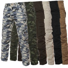 6f3ff21e7a885 Cargo military pants brands online shopping - Mens Pants Hot Sale Men  Camouflage Military Multi pocket