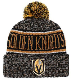0dcf4146ad4 Hot sale Vegas Golden Knights Beanie Sideline Cold Weather Graphite  Official Revers Sport Knit Hat All Teams winter Knitted Wool Skull Cap