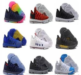 e83f80aeab24 Kd Shoes Canada - Cheap KD 10 EP Elite Basketball Shoes KD 10s Men Trainers  What