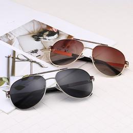6c159a5454 Gafas de sol de marca de lujo de metal nuevo marco 0822 Gafas de protección  UV clásica de plata amarillo rosa UV400 Mujeres de lentes de hombre estilo  ...