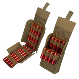 Round magazine online shopping - Hunting Round GA Gauge Ammo Shells Reload Magazine Storage Pouches Bag Bandolier Bullet Holder Tactical Airsoft Kit
