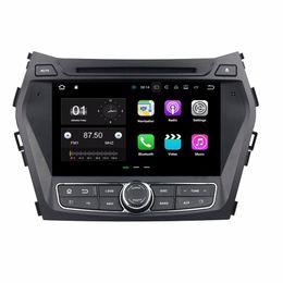 Android 7.1 Octa Çekirdek 2 GB RAM 16 GB ROM Araba DVD Radyo GPS için Hyundai IX45 Santa Fe 2013 2014 Bluetooth WIFI Ile Ayna-bağlantı DVR