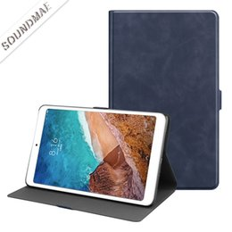 $enCountryForm.capitalKeyWord NZ - Magnetic Smart PU Leather Cover Back Case For Xiaomi Mi pad 4 PLUS 10.1 Folding Case With Auto Sleep Wake OppBag