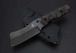 Discount folding tanto knives - Kingdom of Armory VG10 62HRC tanto drop blade handmade straight fixed blade knife by David M. Rydbom folding Survival Kn