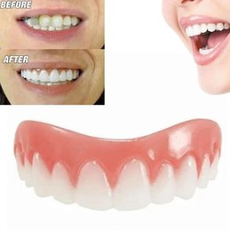 $enCountryForm.capitalKeyWord Canada - Perfect Instant Smile Comfort Fit Flex Teeth Whitening Denture Paste False Teeth Upper Cosmetic Fake Tooth Cover Beauty Tool Dentures