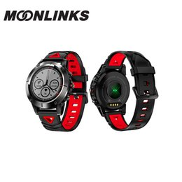 compass for android Canada - MoonlinksG01 GPS Smart Watch Men IP68 Waterproof Blood Pressure Bluetooth Wristwatch Sports Compass Smartwatch for Android IOS