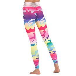 $enCountryForm.capitalKeyWord UK - Women Yoga Pants High Waist Leggings Camouflage Print Sexy Female Sport Clothing Workout Breathable Sportswear Hip Push Up Pants