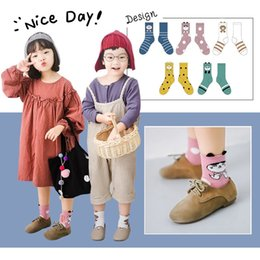 $enCountryForm.capitalKeyWord NZ - Children socks autumn new boys and girls cartoon animal small hand socks leisure 1 bag 5 pairs of wholesale baby socks C021