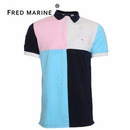 $enCountryForm.capitalKeyWord Canada - 2018 new france brand  eden serige park mens  shirt slim fit high quality embroidery cotton material fashion classical